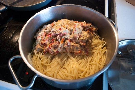 spagety a omacka